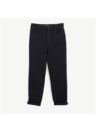 Yargıcı Cep Detaylı Denim Pantolon Lacivert